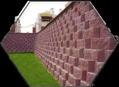 Блок-стена